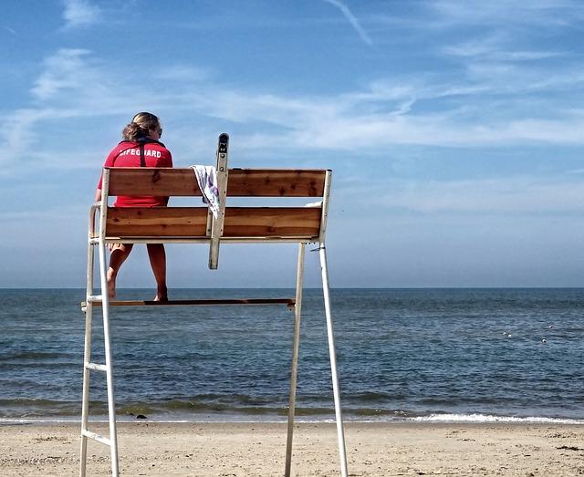 Badehose am Strand